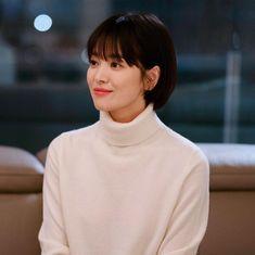 Asian Short Hair, Short Hair Cuts, Short Hair Plus Size, Song Hye Kyo Style, Shot Hair Styles, Hairstyles Haircuts, Pixies, Hair Goals, My Hair