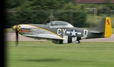 That's a P-51D flying below the altimeter. Balls of solid rock on this guy.