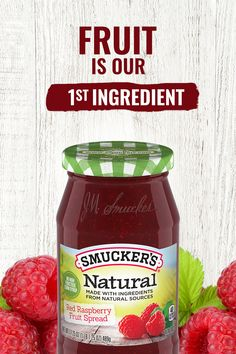 Strawberries are our number one ingredient in Smucker's® Natural Strawberry Fruit Spread. A family favorite, with just the right balance of flavor, Smucker's® Natural Strawberry Fruit Spread lets the natural delight of sun-ripened sweetness shine through. Fruit Recipes, Diabetic Recipes, Low Carb Recipes, Diet Recipes, Healthy Recipes, Onion Recipes, Ketogenic Recipes, Steak Recipes, Recipies