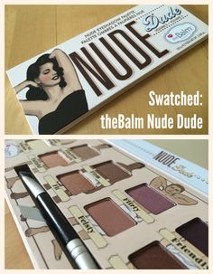 Seriously...how cute is this palette!I ❤ The Balm