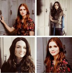 allison argent, best friends, crystal reed, holland roden, lydia martin, teen wolf