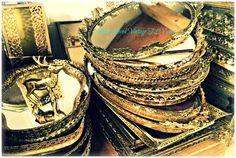 Vintage Vanity Mirror Trays Wedding centerpieces