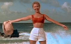"""She's in love with a wonderful guy in the 1950s movie of """"South Pacific."""""""