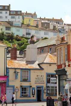 Brixham, Historic Fishing Town, Devon, UK