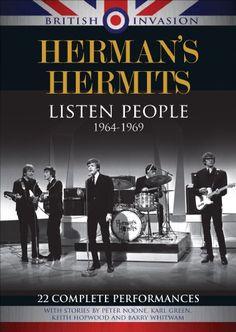 Herman's Hermits & Peter Noone & David Peck-British Invasion: Herman's Hermits - Listen People, Rock N Roll Music, Rock And Roll, Peter Noone, Herman's Hermits, Dusty Springfield, Sheet Music Book, British Invasion, Cover Songs, The Beatles