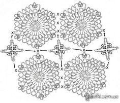 Ажурные шортики крючком от marifu6a. Схемы, МК