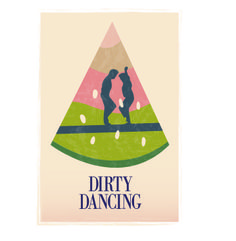 Minimalistic Movie Poster| Dirty Dancing   by: Erin Fetterhoff