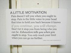 a little motivation :)