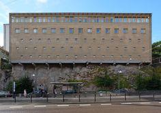 www.archipicture.eu - Klas Anshelm - Medicinarbibliotek Göteborg More Images, Architectural Elements, Garage Doors, Architecture, Sweden, Masters, Outdoor Decor, Google, Home Decor