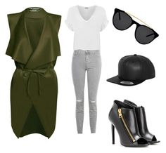 """Rebel"" by michaela-diviskova on Polyvore featuring Tom Ford, WearAll, J Brand and Smoke & Mirrors"