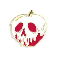 Poison Apple Enamel Pin par YesterdaysCo sur Etsy