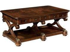 Furniture,Enchanting Hekman Furniture Design Ideas With Nice Wood Coffe Table On Combined Antique Brown Color And Nice Drawers,Wood Table Co. Mahogany Coffee Table, Coffe Table, Coffee Table With Storage, New Orleans Coffee, Dining Room Sets, Rustic Elegance, How To Antique Wood, Wood Table, Entryway Tables