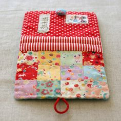 patchwork needle book by nanaCompany, via Flickr