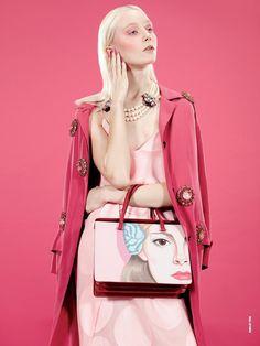 D Magazine - DNA Rosa Juliette Fazekas Emilio Tini (Photographer)