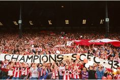 A cheer heard for miles! Stoke City are crowned Division Two champions on this day in 1993