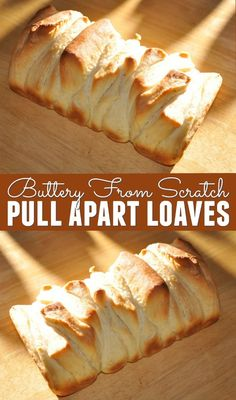 I love baking bread from scratch. One of my favorite recipes is this Buttery From Scratch Pull Apart Loaves recipe. It never lasts long in our house!