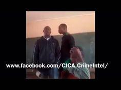 Student assaults teacher in South Africa – VIDEO