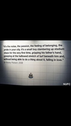 What football is really about. R.I.P sir Bobby Robson