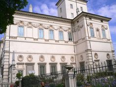 Rome - The Borghese Gallery, via Flickr.
