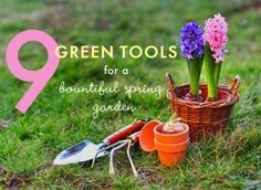 Spring is closer than you think. Get prepared: http://inhabitat.com/9-green-tools-for-a-bountiful-spring-garden/