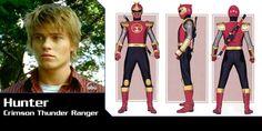 Power Rangers Ninja Storm Hunter | Hunter Bradley (Power Rangers Ninja Storm) - Red Rangers Photo ...