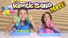 KINETIC SAND PARTY!!! Sand vs. Sand BATTLE!!! [EvanTubeHD CLASSIC WEEK]