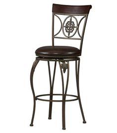 "Fleur De Lis Bar Stool 30"" Seat at Menards"