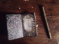 Rustic.Meets.Vintage - Moleskin Journal by -Isobelle Ouzman-...