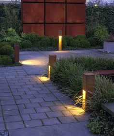 If you are considering lighting your garden/landscape, do remember firstly that a little light goes a long way at night. See our top garden lighting tips and ideas below to help you light beautifully and use the right exterior light… Continue Reading → Garden Lighting Tips, Backyard Lighting, Outdoor Lighting, Garden Lighting Bollards, String Lighting, Bollard Lighting, Outdoor Lantern, Indoor Outdoor, Outdoor Decor
