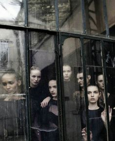 "Valentino Haute Couture"" by Deborah Turbeville for Vogue Italia September 2012"