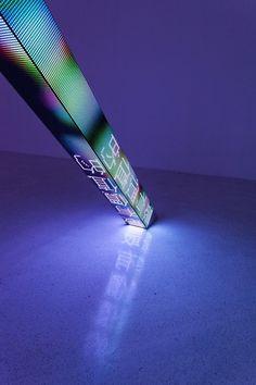 Jenny Holzer: inclined, 2013 (detail).