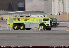 clark county fire dept apparatus   ARFF Clark County Fire Department Emergency Apparatus Fire Truck Photo