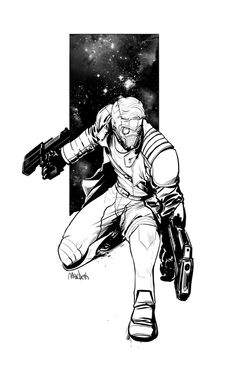 "macbethoff: ""Peter Quill a.a Star-Lord "" Marvel Comics Art, Marvel Comic Books, Marvel Characters, Marvel Movies, Comic Books Art, Comic Art, Book Art, Superhero Villains, My Superhero"