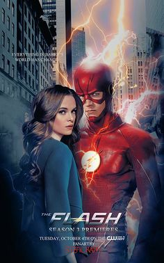 Snowbarry fan art ~ lockscreen ~ The Flash Barry & Caitlin