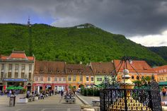 :en >The Most Beautiful Pictures of Brasov, Romania<! Places To Travel, Places To Visit, Brasov Romania, Macedonia, Albania, Most Beautiful Pictures, Places Ive Been, Art Nouveau, Around The Worlds