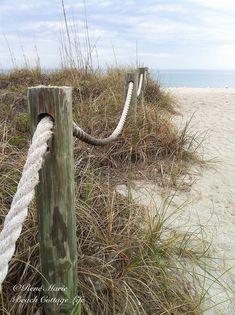 siesta key beach path wm by René Marie | Beach Cottage Life, via Flickr