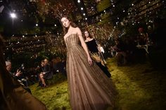 The finale of Dior Haute Couture's spring 2017 collection. Photo: Pascal Le Segretain/Getty Images