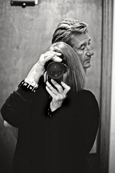 Helmut Newton by is wife Alice Springs (aka. June Newton) Chateau Marmont, Hollywood, 1991. @designerwallace