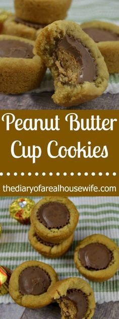Peanut Butter Cup Cookies.  This is such an awesome cookie. Really so much chocolate and peanut butter!!