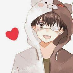 S O M I E — Ken × Touka   Tokyo Ghoul ▸ Like or reblog if u... Cute Anime Chibi, Cute Anime Pics, Anime Neko, Otaku Anime, Kawaii Anime, Manga Anime, Anime Art, Best Anime Couples, Anime Best Friends