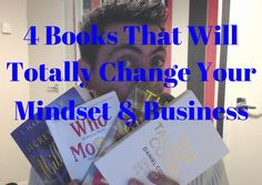 So today I wanted to focus on books, and I have picked out the top 4 books that has changed my mindset and the way I treat my business.  I mean why are books so important anyway?