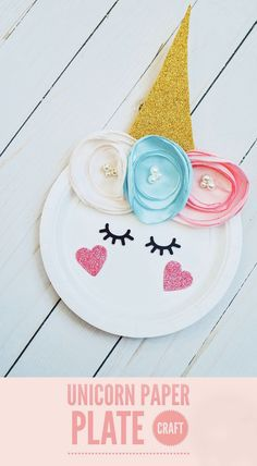 Unicorn Paper Plate Craft for tweens pom crafts crafts crafts Fun Projects For Kids, Arts And Crafts Projects, Diy Crafts For Kids, Diy Projects, Unicorn Paper Plates, Unicorn Crafts, Paper Plate Crafts, Unicorn Party, Unicorn Birthday
