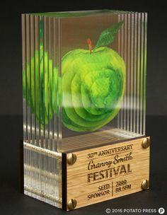 Grannysmith-apples-trophy-acrylic-glass-3d-custom-bespoke-laser-etch-australia-international