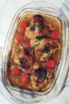 Курица в средиземноморском стиле Ratatouille, Curry, Ethnic Recipes, Food, Curries, Essen, Meals, Yemek, Eten