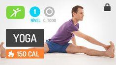 Aula de Yoga para Iniciantes – Curar a Gastrite Nervosa e Desintoxicar o Fígado