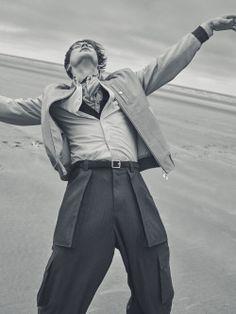 "manniskorarkonstiga: ""Jules Raynal photographed by Simon Lipman and styled by Jo Grzeszczuk for Rake Magazine April 2016 """