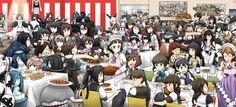 Anime Kantai Collection  Kongou (Kancolle) Kirishima (Kancolle) Haruna (Kancolle) Hiei (Kancolle) Shigure (Kancolle) Nagato (Kancolle) Mutsu (Kancolle) Yamato (Kancolle) Musashi (Kancolle) Shoukaku (Kancolle) Zuikaku (Kancolle) Ryuujou (Kancolle) Bismarck (Kancolle) Jintsuu (Kancolle) Yukikaze (Kancolle) Sendai (Kancolle) Kaga (Kancolle) Akagi (Kancolle) Fubuki (Kancolle) Wallpaper