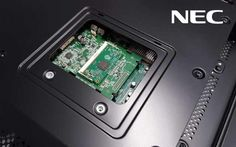 Raspberry Pi im Monitor (Bild: NEC Display Solutions)