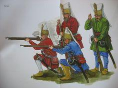 Janissaries, XVII c.