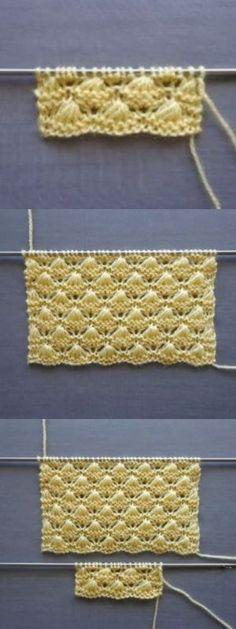 Knitting Pattern - Knitting a love Crochet Flower Headbands, Knitted Headband, Crochet Flowers, Two Color Knitting Patterns, Knit Vest Pattern, Crochet Motifs, Knit Crochet, Crochet Patterns, Head Wrap Headband